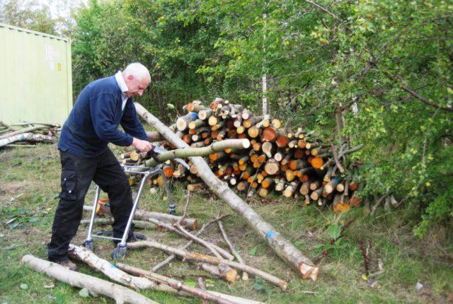 Community Woodfuel Day at Swadlincote Woodland