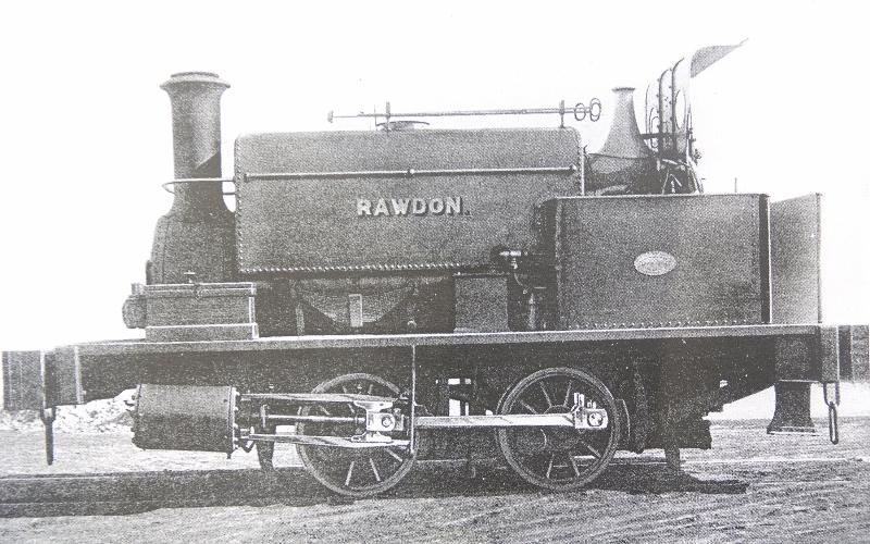 Shunting loco At Rawdon pit