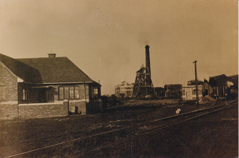 Photograph of reservoir colliery