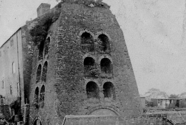 Black and white photograph of Moira Furnace